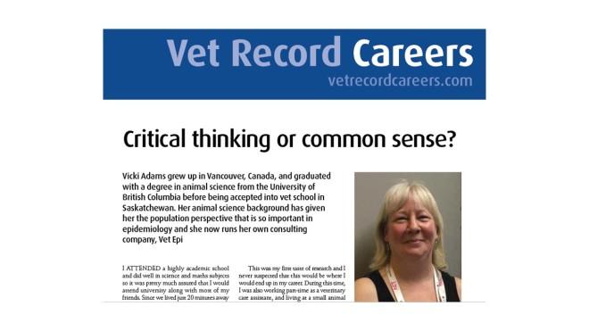Vet Rec Careers